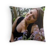 Mary Mary Quite Contrary #2 Throw Pillow