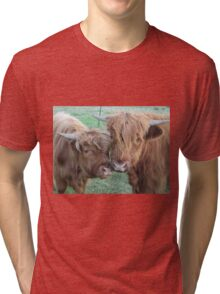 Aelbie and Barney  21 May 2014 Tri-blend T-Shirt
