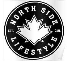 NSL Canada Black Leaf Crest Poster