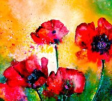 The Rhythm Of Life...Poppies by ©Janis Zroback