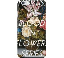 Mortis: The Blood 'n Flowers Series iPhone Case/Skin