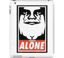 Obey Alone iPad Case/Skin