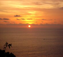Sunset in Bali by Sanjam's Eye