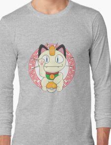 Maneki meowth Long Sleeve T-Shirt