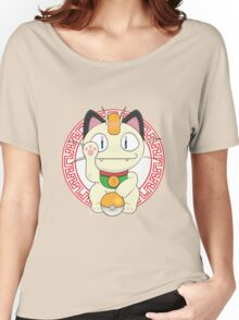 Maneki meowth Women's Relaxed Fit T-Shirt