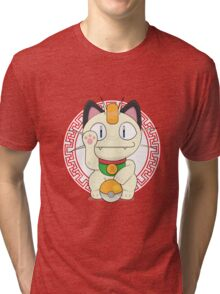 Maneki meowth Tri-blend T-Shirt