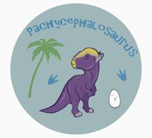 Cute Pachycephalosaurus Kids Tee