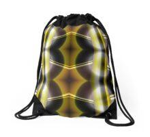 The Golden Knight Drawstring Bag