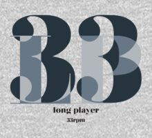 Long Player Baby Tee