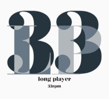 Long Player Kids Tee