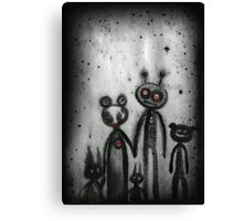 not so different  Canvas Print
