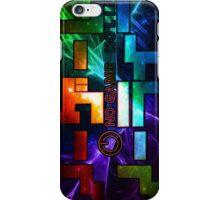 No Game No Life Logo - Rainbow Galay  iPhone Case/Skin