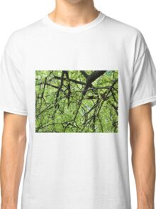Green Tree Branches Classic T-Shirt