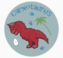 Cute Carnotaurus Baby Tee