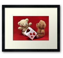 Heart Donor Framed Print