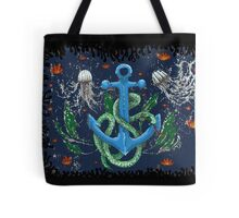 serpent of the sea Tote Bag