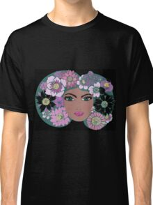 She wore flowers Classic T-Shirt