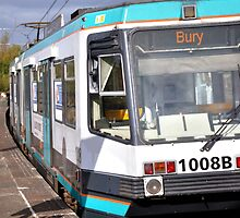 Bury Tram by Andrew Cryer