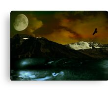 Intrepid Earth Canvas Print