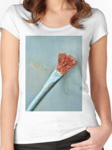 The Paint Brush  Women's Fitted Scoop T-Shirt