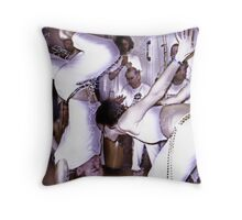 Capoeira 1 Throw Pillow