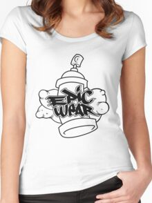 epic spray can Women's Fitted Scoop T-Shirt