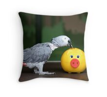 Recession Feathers Throw Pillow