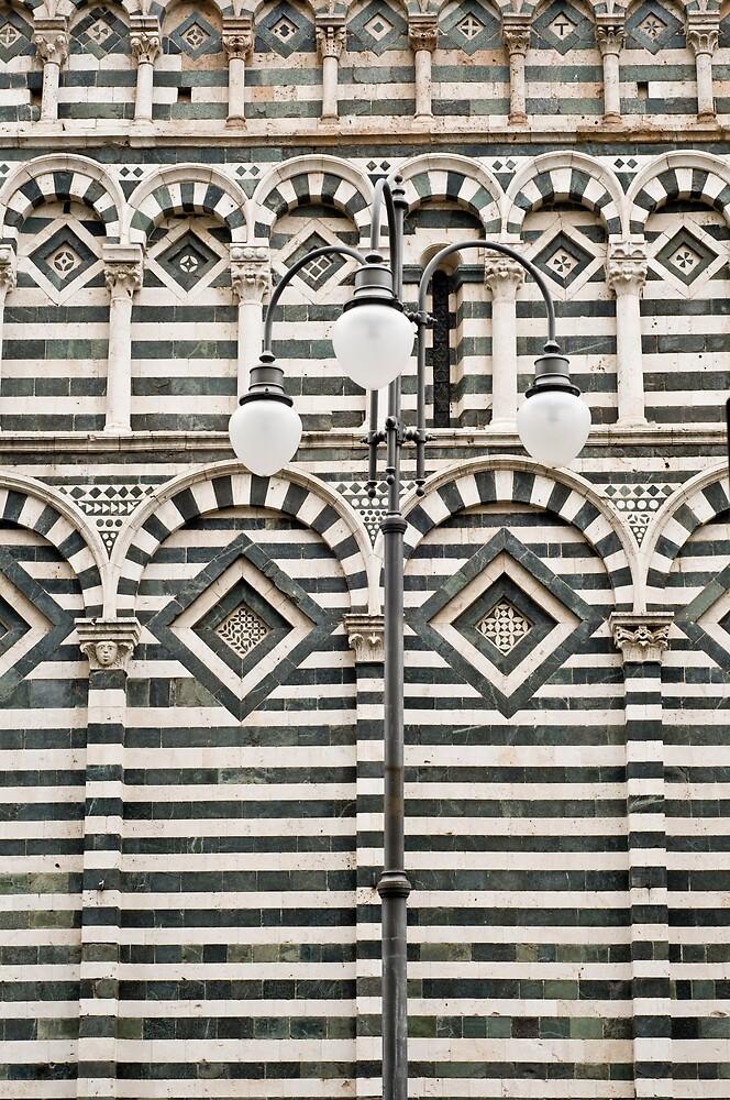 Lamp post by Ilva Beretta
