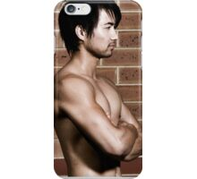 Hunky Muscle Man iPhone Case/Skin