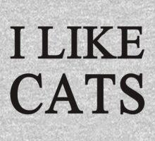 I Like Cats by onitees
