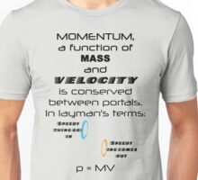 Momentum - Mass and Velocity Unisex T-Shirt