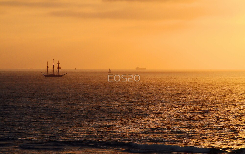 Tall Ship Leeuwin II - Western Australia  by EOS20