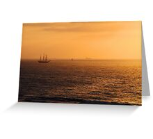 Tall Ship Leeuwin II - Western Australia  Greeting Card