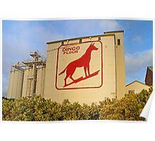 Dingo Flour Mill  Poster