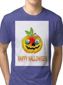 Happy Halloween  Pumkin T Tri-blend T-Shirt