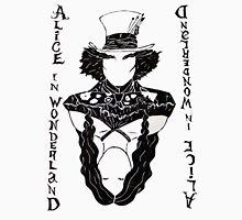 Alice in Wonderland Playing Card Unisex T-Shirt