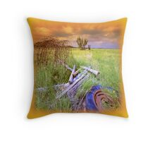 Stormy Day`s Throw Pillow