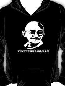 Stencil Mahatma Gandhi T-Shirt