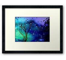 It's raining... Framed Print