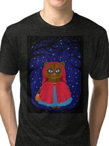 she followed the stars  Tri-blend T-Shirt