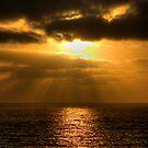 Sunset West Coast by GerryMac