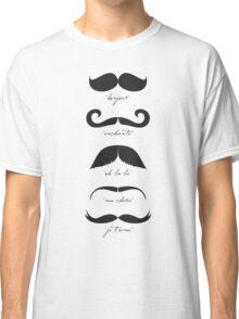 Monsieur Moustache Classic T-Shirt