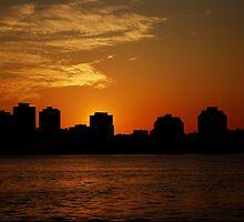 September Sunset, Halifax Harbor, NS by CharlesR99