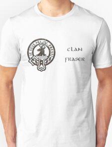 Je Suis Prest - Crest of Clan Fraser (Outlander series) Unisex T-Shirt