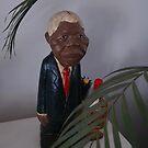 Mandela Piggy Bank by Kate Wilhelm