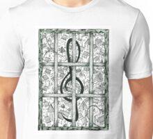Music behind bars Unisex T-Shirt