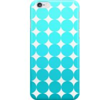 Turquoise Dots iPhone Case/Skin