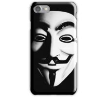Fawkes Mask iPhone Case/Skin