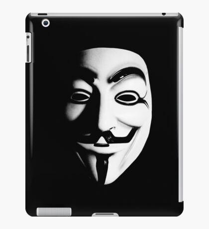 Fawkes Mask iPad Case/Skin