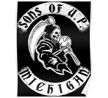 Sons of Upper Peninsula, Michigan Poster